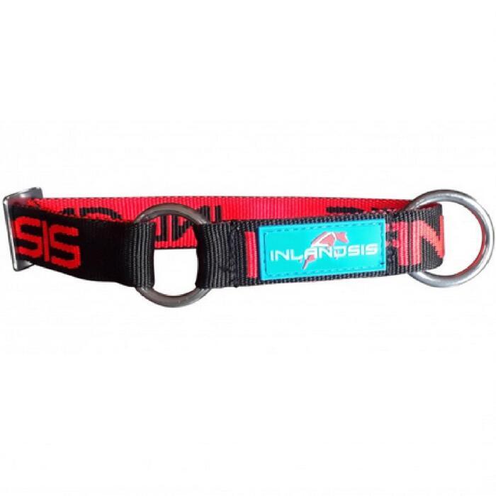 Hondenhalsband Neve zwart/rood