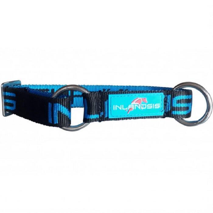 Hondenhalsband Neve zwart/blauw