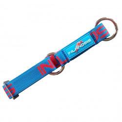 Hondenhalsband Neve blauw/rood