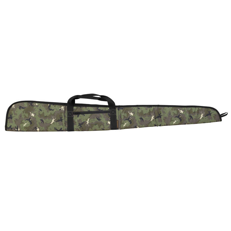 SMALL GAME SHOTGUN/AMMO TRANSPORT Shooting and Hunting - Gun Slip 125 cm camo  SOLOGNAC - Hunting and Shooting Accessories