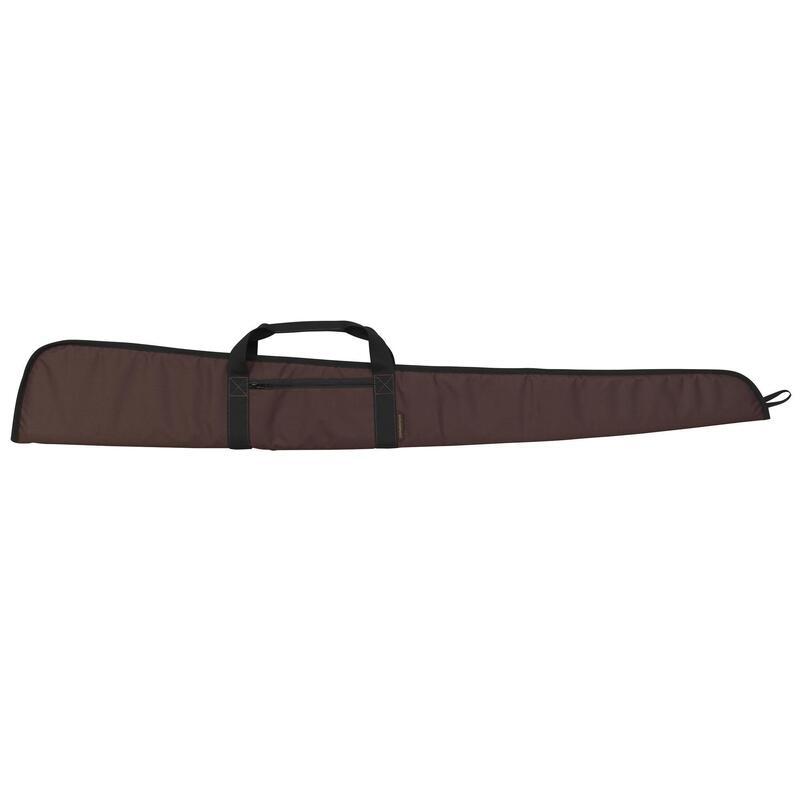 Foedraal voor jachtgeweer 125 cm bruin