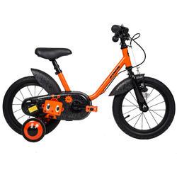 3至5歲兒童用14吋自行車500-機器人款