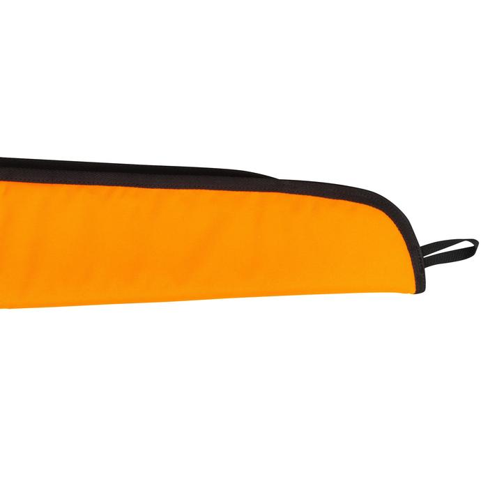 Funda de escopeta de caza 125 cm Acolchada Naranja fluo