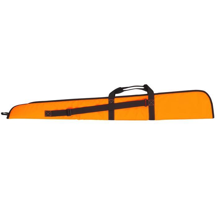 Foedraal voor jachtgeweer 125 cm fluo