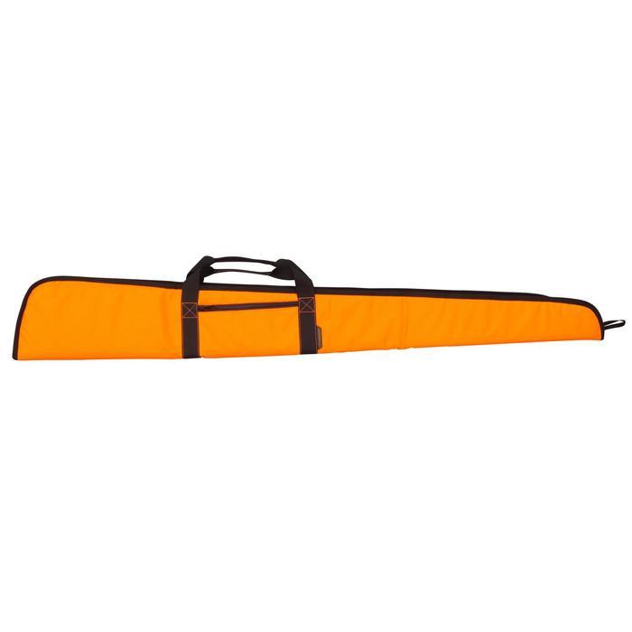 Fourreau chasse fusil 125 cm fluo