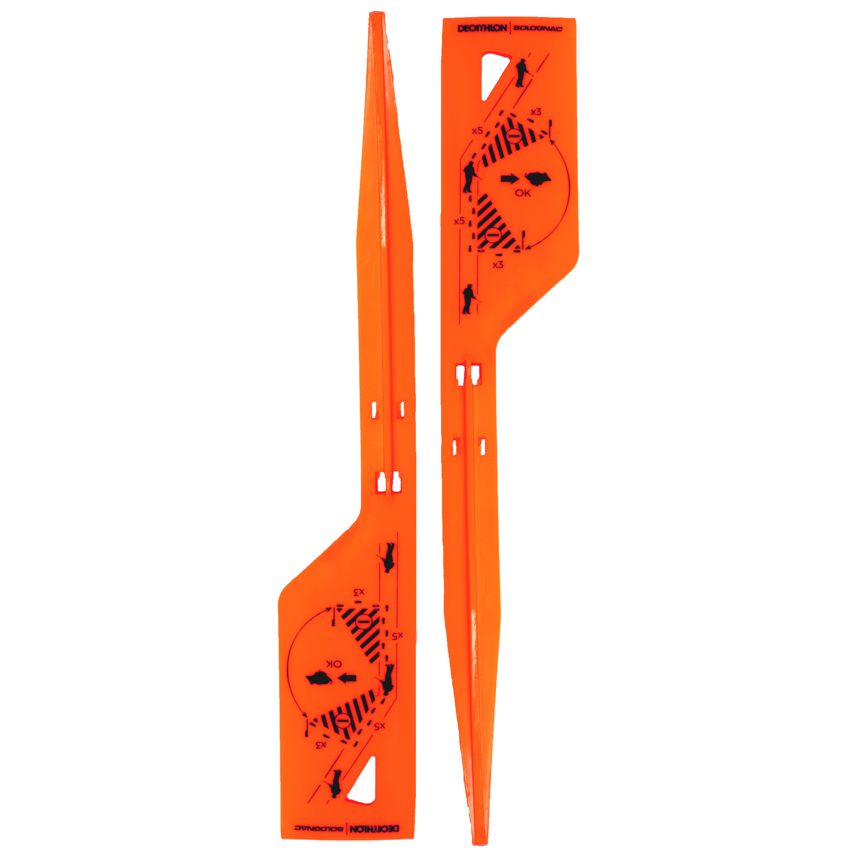 Picheți de marcaj portocaliuX2