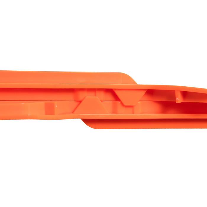 Piquetas Solognac Marcado Angulo de Tiro Caza Naranja X2.