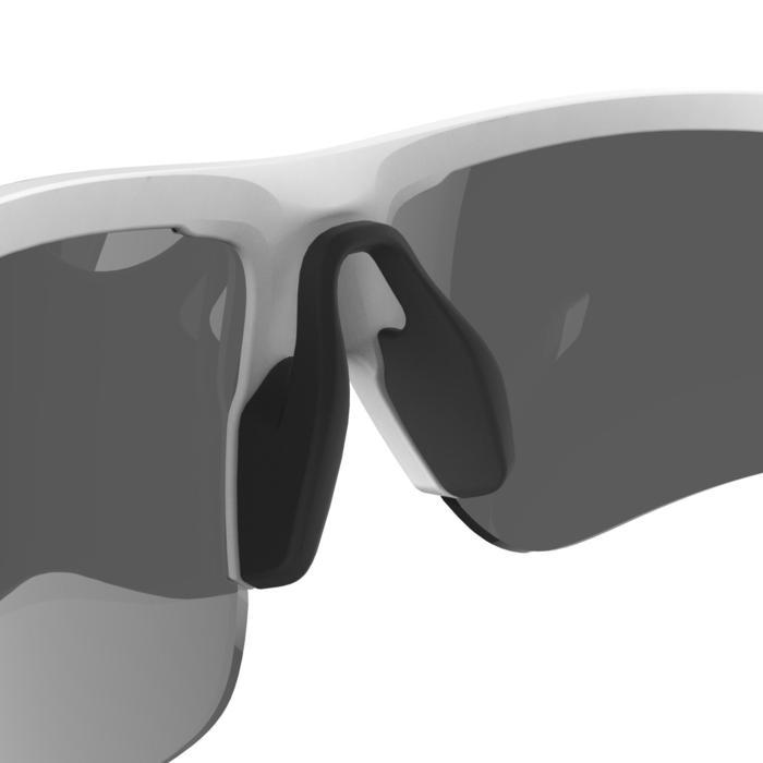 Fahrradbrille Rennrad RR 500 Erwachsene Kat. 3 weiß