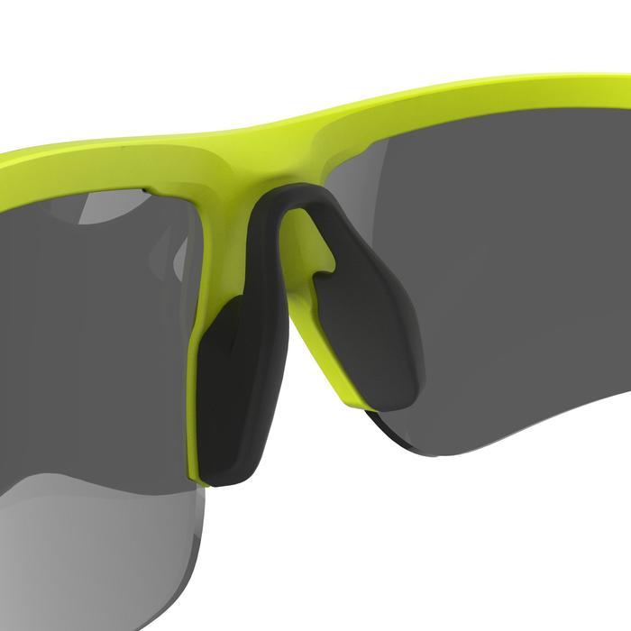 Lunettes de vélo adulte ROADR 500 catégorie 3 jaune/vert fluo