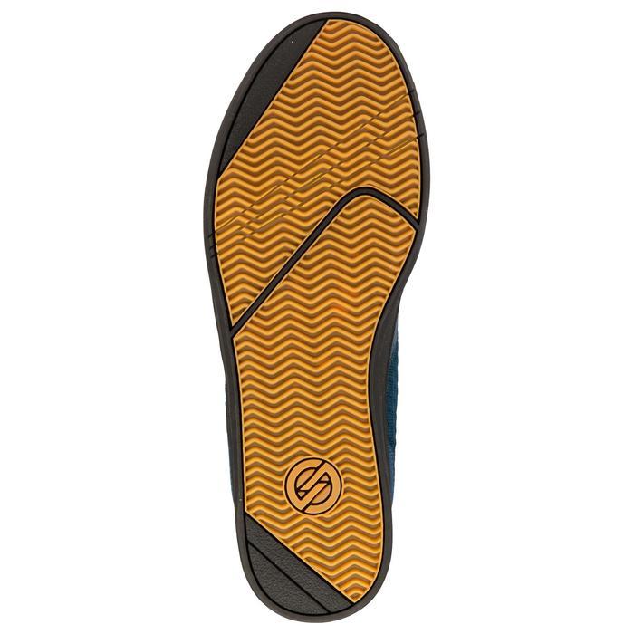 Zapatillas de caña baja (cupsoles) skateboard adulto CRUSH 500 azul / negro