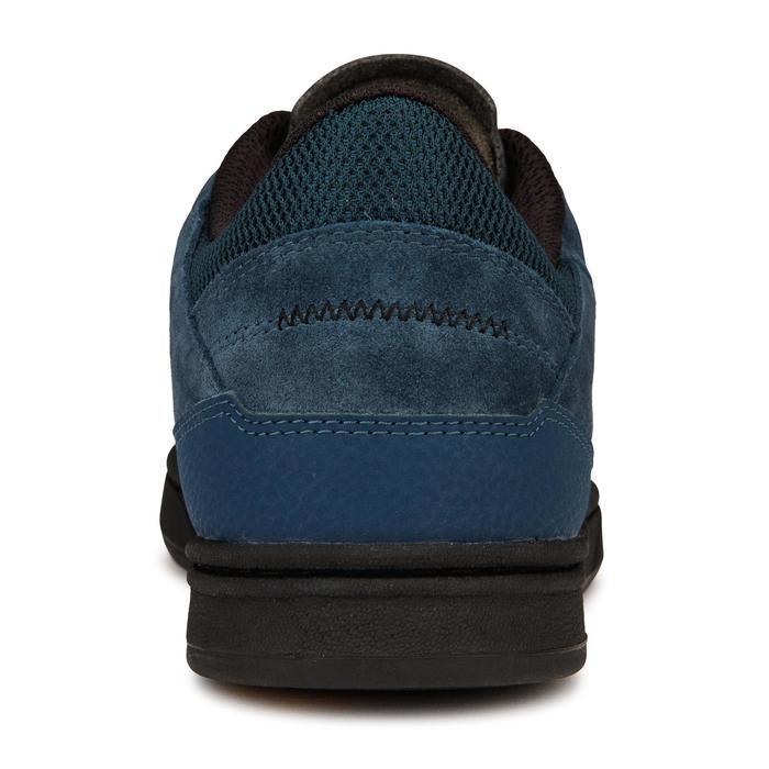 Chaussures basses (cupsoles) de skateboard adulte CRUSH 500 bleu / noir