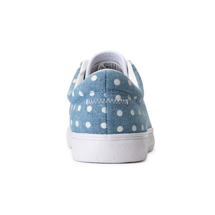 Chaussures basses skateboard-longboard adulte VULCA 100 CANVAS L Denim