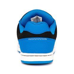 Skateschuh Crush 500 Low Skateboard Kinder blau/schwarz