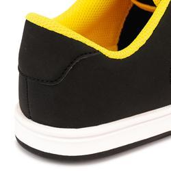 Skateschuh Crush 100 Low Kinder schwarz/gelb