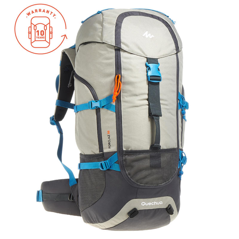 299df3472 Forclaz 50-Litre Travel Backpack - Grey