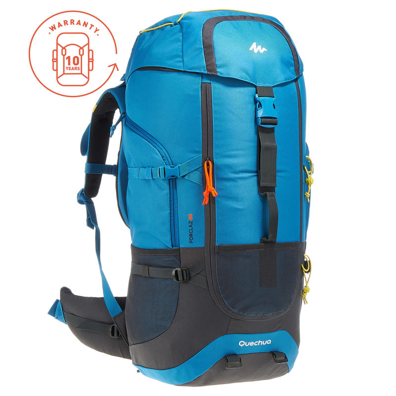3ad0e8443 Forclaz Trekking Backpack 60 Litres - Blue
