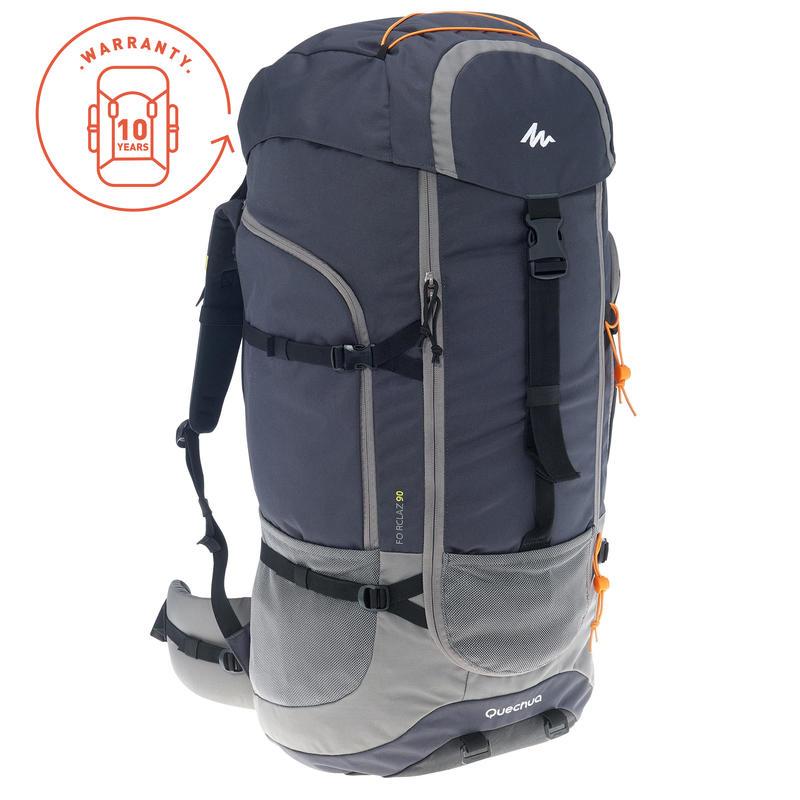 f35a11f87 Forclaz 90L Travel Backpack – Dark Grey