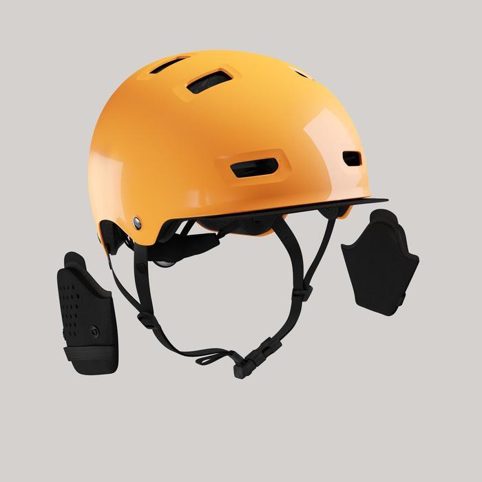 Fahrradhelm City 500 Bowl pfirsich