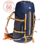Trekking Backpack Easyfit Men's 50 Litre - Blue