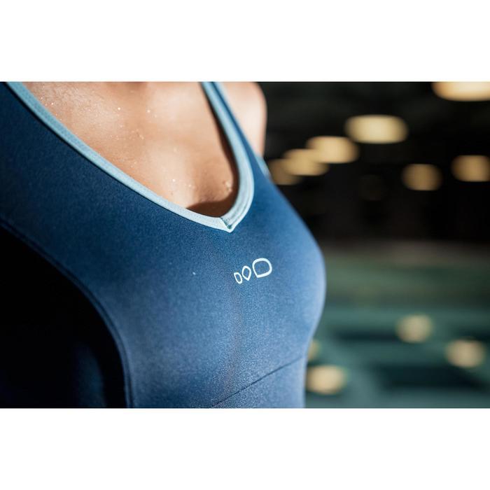 Badeanzug Aquafitness Lou Damen blau