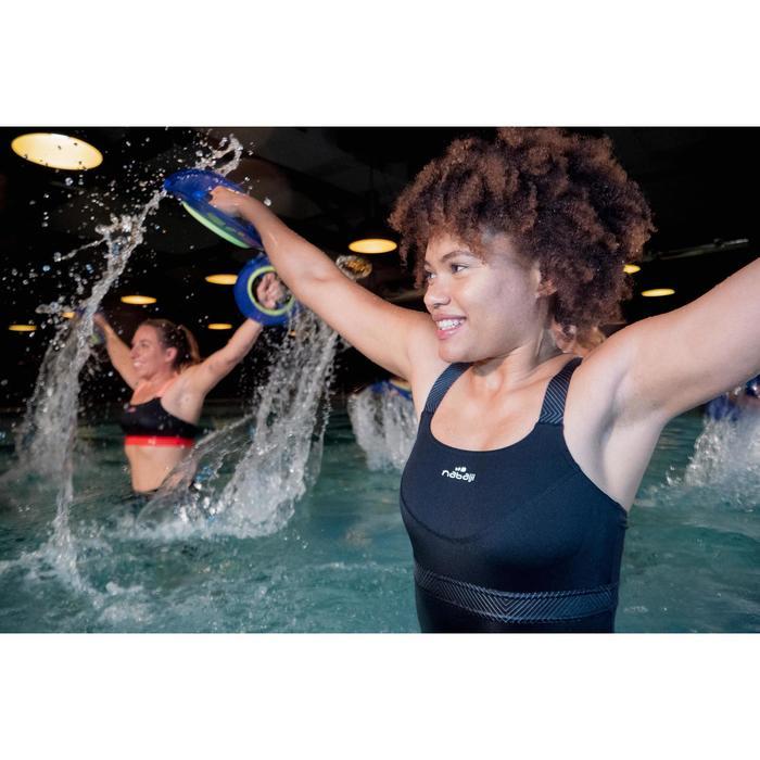 Badeanzug Aquafitness Anna Damen schwarz