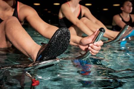 Zapatos acuáticos para Aquagym, Aquabike y Aquafitness Aquadots new negro
