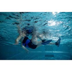 Pullsteps mesh Aquagym-aquafitness blauw geel