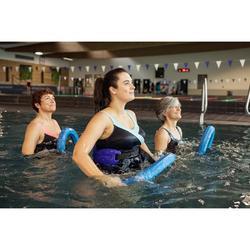 Bañador Moldeador Aquagym Piscina Nabaiji Karli Mujer Efecto Vientre Plano Blue