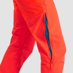 Softshellhose Winterwandern SH520 X-Warm Wasserabweisend Gamaschen Herren rot