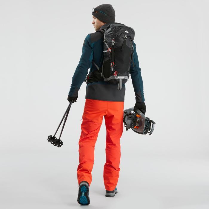 Wanderhose Winterwandern SH520 Extra-Warm Herren rot