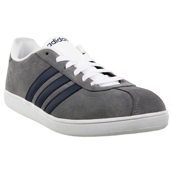 Sportschoenen heren Neo Court grijs/marineblauw - 167771
