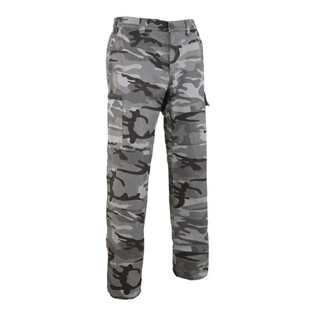 Steppe 300 Hunting Trousers - Woodland Black