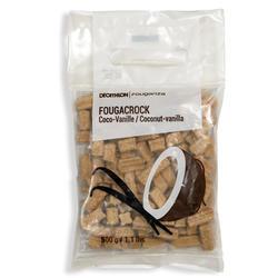 Snoepjes ruitersport paard en pony Fougacrock vanille/kokos - 500 g