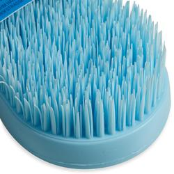 Borstel voor paardrijden Magic Brush lichtblauw