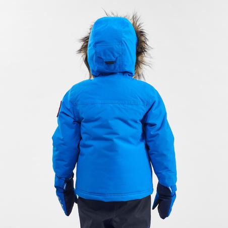 """Bērnu (2–6 gadi) silta, ūdensnecaurlaidīga pārgājienu jaka """"SH500 U-Warm"""""""