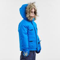 Manteau chaud imperméable de randonnéeSH500 U-Warm – Enfants
