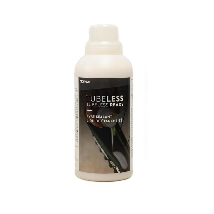 Antilekvloeistof voor tubeless ready banden en velgen