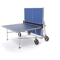 Tafeltennistafel / pingpongtafel outdoor PPT 500 blauw