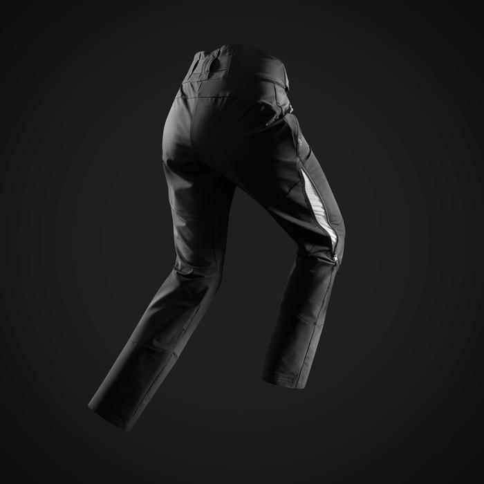 Warme wandelbroek dames SH520 X-Warm zwart