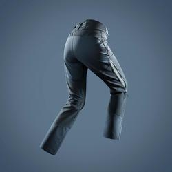 Pantalon chaud déperlant de randonnée neige avec guêtres - SH520 X-WARM - Femme