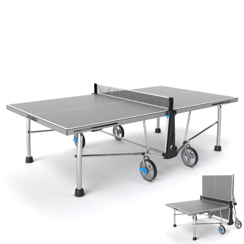 Masa Tenisi Masası - Dış Mekan - Gri - PPT 900