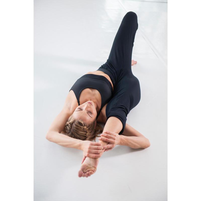 d47d332b62 Tanz-Hose verstellbar Modern Dance Damen schwarz | Domyos by Decathlon