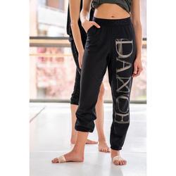 Pantalón vaporoso y modulable danza moderna mujer negro
