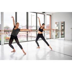Tanz-Bustier atmungsaktiv Damen schwarz
