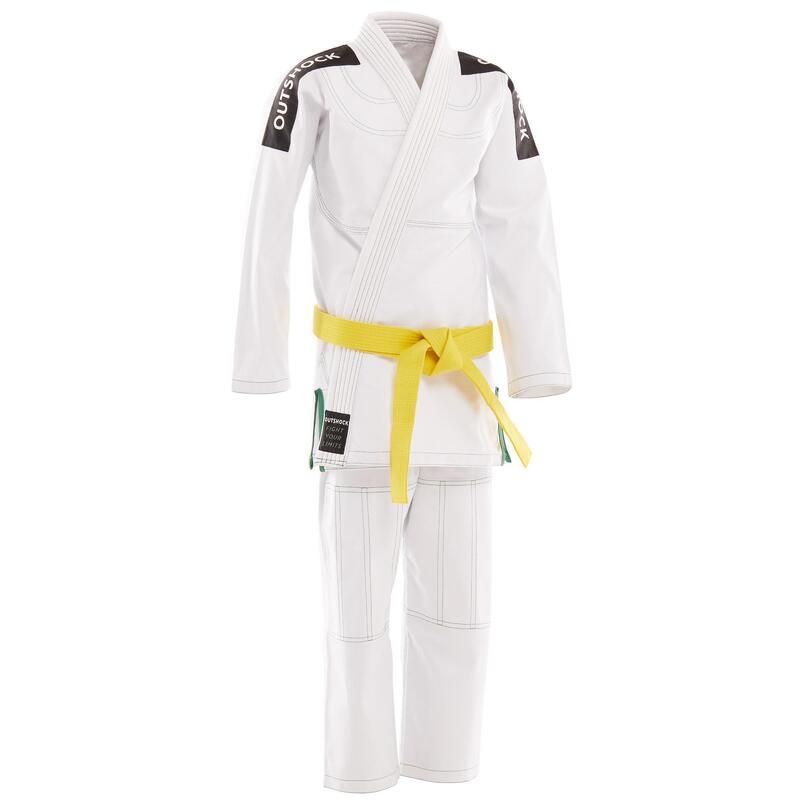 Kimono jiu-jitsu brazilian 500 Alb Copii