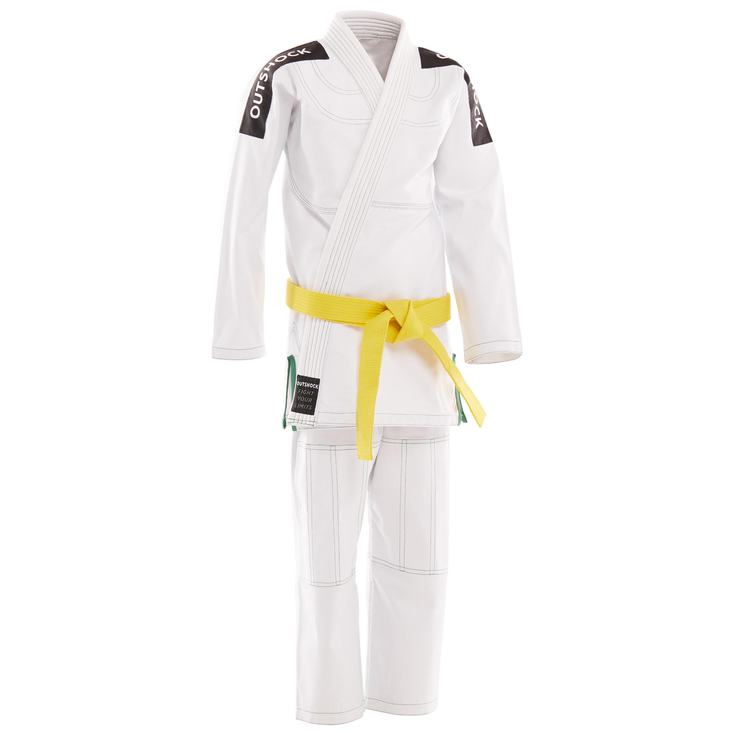 Kimono BJJ-K-500 H Alb