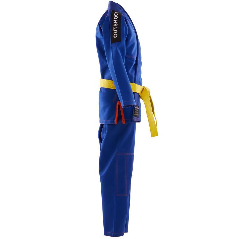 ชุดบราซิลเลียนยูยิตสูสำหรับเด็กรุ่น 500 (สีน้ำเงิน)