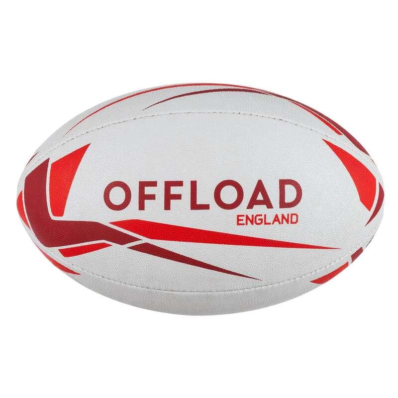 MINGI, ACCESORII RUGBY Baschet, Handbal, Volei, Rugby - Minge RWC19 Anglia Mărimea 5  OFFLOAD - Rugby
