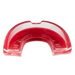 Protège dents de rugby R500 Taille L rouge ( joueur(se) > à 1.70M )