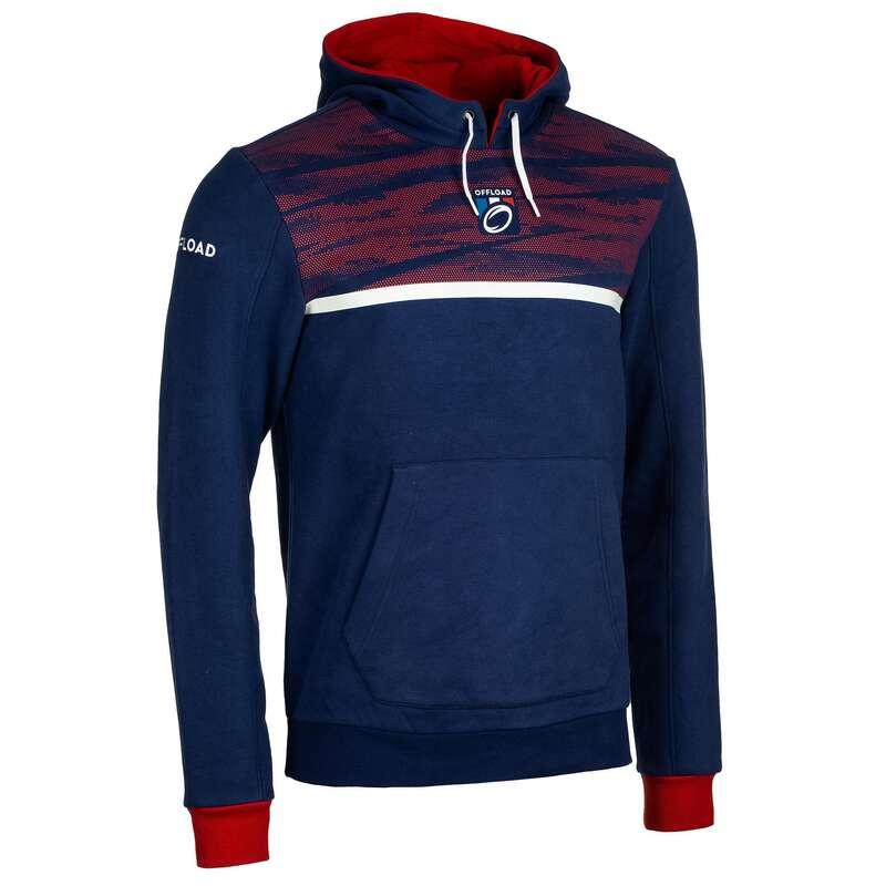 Francja Rugby - Bluza HOODIE FRANCJA nieb. OFFLOAD - Rugby